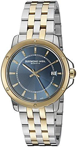 レイモンドウィル 腕時計 メンズ スイスの高級腕時計 5591-STP-50001 【送料無料】Raymond Weil Men's 'Tango' Swiss Quartz Stainless Steel Casual Watch, Color:Two Tone (Model: 5591-STP-レイモンドウィル 腕時計 メンズ スイスの高級腕時計 5591-STP-50001