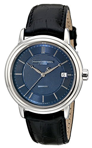 レイモンドウィル 腕時計 メンズ スイスの高級腕時計 2837-STC-50001 【送料無料】Raymond Weil Men's 2837-STC-50001 Maestro Analog Display Swiss Automatic Black Watchレイモンドウィル 腕時計 メンズ スイスの高級腕時計 2837-STC-50001