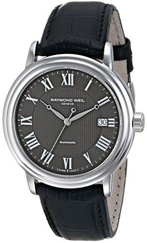 レイモンドウィル 腕時計 メンズ スイスの高級腕時計 2837-STC-00609 【送料無料】Raymond Weil Men's 2837-STC-00609 Automatic Stainless Steel Grey Dial Watchレイモンドウィル 腕時計 メンズ スイスの高級腕時計 2837-STC-00609