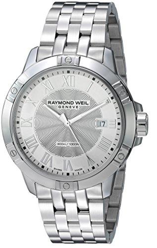 レイモンドウィル 腕時計 メンズ スイスの高級腕時計 8160-ST-00658 【送料無料】Raymond Weil Men's Swiss-Quartz Watch with Stainless-Steel Strap, Silver, 17.78 (Model: 8160-ST-00658)レイモンドウィル 腕時計 メンズ スイスの高級腕時計 8160-ST-00658