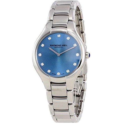 腕時計 レイモンドウィル メンズ スイスの高級腕時計 5132-ST-50081 【送料無料】Raymond Weil Women's Noemia Quartz Watch with Stainless-Steel Strap, Silver, 20 (Model: 5132-ST-50081)腕時計 レイモンドウィル メンズ スイスの高級腕時計 5132-ST-50081
