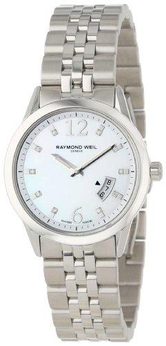 レイモンドウィル 腕時計 レディース スイスの高級腕時計 5670-ST-05985 【送料無料】Raymond Weil Women's 5670-ST-05985 Freelancer Date Steel Mother-Of-Pearl Dial Watchレイモンドウィル 腕時計 レディース スイスの高級腕時計 5670-ST-05985