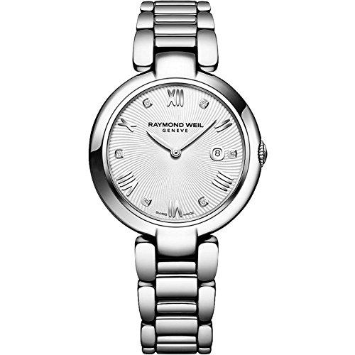 レイモンドウィル 腕時計 レディース スイスの高級腕時計 1600-ST-00618 Raymond Weil Women's Shine Swiss-Quartz Watch with Stainless-Steel Strap, Silver (Model: 1600-ST-00618レイモンドウィル 腕時計 レディース スイスの高級腕時計 1600-ST-00618
