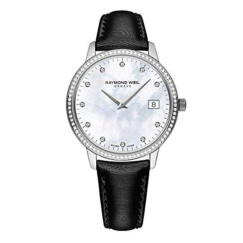 腕時計 レイモンドウィル レディース スイスの高級腕時計 5388-SLS-97081 送料無料 Raymond Weil Toccata Mother of Pearl Diamond Dial Ladies Watch 5388-SLS-97081腕時