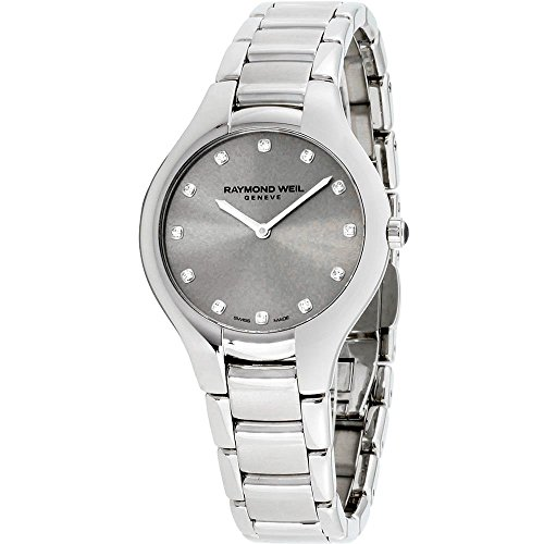 レイモンドウィル 腕時計 レディース スイスの高級腕時計 5132-ST-65081 Raymond Weil Noemia Silver Dial Stainless Steel Ladies Watch 5132-ST-65081レイモンドウィル 腕時計 レディース スイスの高級腕時計 5132-ST-65081