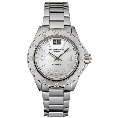 """レイモンドウィル 腕時計 レディース スイスの高級腕時計 6170-ST-05997 【送料無料】Raymond Weil Women""""s 6170-ST-05997 Spirit Diamond Accented Stainless Steel Watchレイモンドウィル 腕時計 レディース スイスの高級腕時計 6170-ST-05997"""