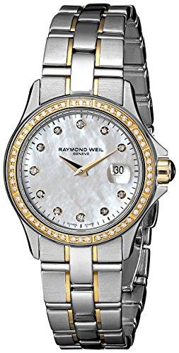 レイモンドウィル 腕時計 レディース スイスの高級腕時計 9460-SGS-97081 【送料無料】Raymond Weil Women's 9460-SGS-97081 Diamond-Accented Watch with Link Braceletレイモンドウィル 腕時計 レディース スイスの高級腕時計 9460-SGS-97081