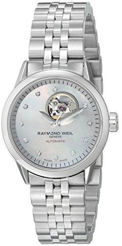 レイモンドウィル 腕時計 レディース スイスの高級腕時計 2410-ST-97081 【送料無料】Raymond Weil Women's 2410-ST-97081 Freelancer Automatic Stainless Steel Watchレイモンドウィル 腕時計 レディース スイスの高級腕時計 2410-ST-97081
