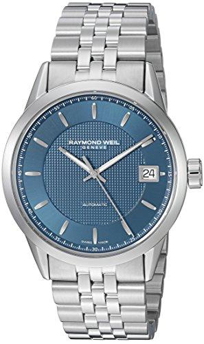 レイモンドウィル 腕時計 メンズ スイスの高級腕時計 2740-ST-50021 Raymond メンズ Weil Men's Freelancer Strap, 腕時計 Swiss-Automatic Watch with Stainless-Steel Strap, Silver, 22 (Model: 2740-ST-50021レイモンドウィル 腕時計 メンズ スイスの高級腕時計 2740-ST-50021, モノダイレクト:3bc3fc98 --- 2017.goldenesbrett.at