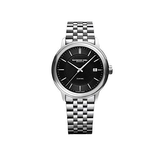 レイモンドウィル 腕時計 メンズ スイスの高級腕時計 2237-ST-20001 【送料無料】Raymond Weil Men's Maestro Swiss-Automatic Watch with Stainless-Steel Strap, Silver (Model: 2237-ST-2000レイモンドウィル 腕時計 メンズ スイスの高級腕時計 2237-ST-20001