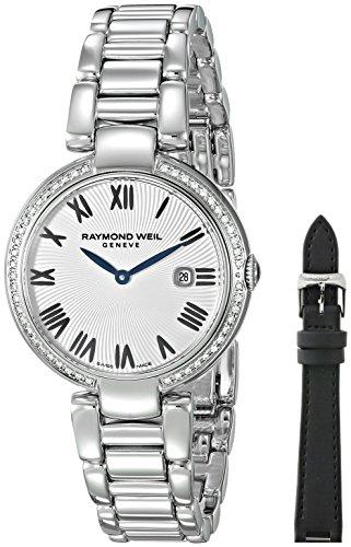 レイモンドウィル 腕時計 レディース スイスの高級腕時計 1600-STS-00659 Raymond Weil Women's 'Shine' Swiss Quartz Stainless Steel Casual Watch, Color:Silver-Toned (Model: 1600-STS-0065レイモンドウィル 腕時計 レディース スイスの高級腕時計 1600-STS-00659