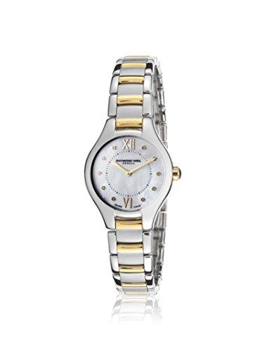 レイモンドウィル 腕時計 レディース スイスの高級腕時計 RW-5124-STP-00985 Raymond Weil Women's Noemia White Mother-of-Pearl Stainless Steel Watchレイモンドウィル 腕時計 レディース スイスの高級腕時計 RW-5124-STP-00985