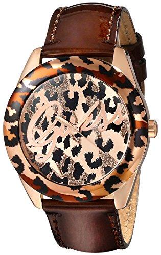 ゲス GUESS 腕時計 レディース U0455L3 GUESS Women's Quartz Stainless Steel and Leather Casual Watch, Color:Brown (Model: U0455L3)ゲス GUESS 腕時計 レディース U0455L3