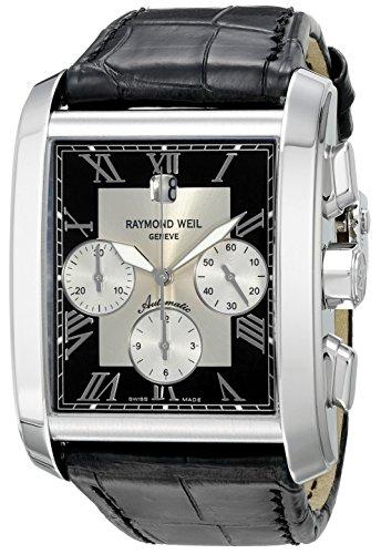 レイモンドウィル 腕時計 メンズ スイスの高級腕時計 4878-STC-00268 【送料無料】Raymond Weil Men's Don Giovanni Cosi Grande Stainless Steel Watch with Crocodile Pattern Leather Strapレイモンドウィル 腕時計 メンズ スイスの高級腕時計 4878-STC-00268