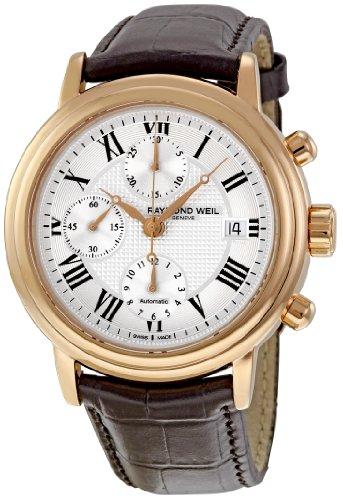 レイモンドウィル 腕時計 メンズ スイスの高級腕時計 7737-PC5-00659 Raymond Weil Men's 7737-PC5-00659 Maestro Chronograph Watchレイモンドウィル 腕時計 メンズ スイスの高級腕時計 7737-PC5-00659