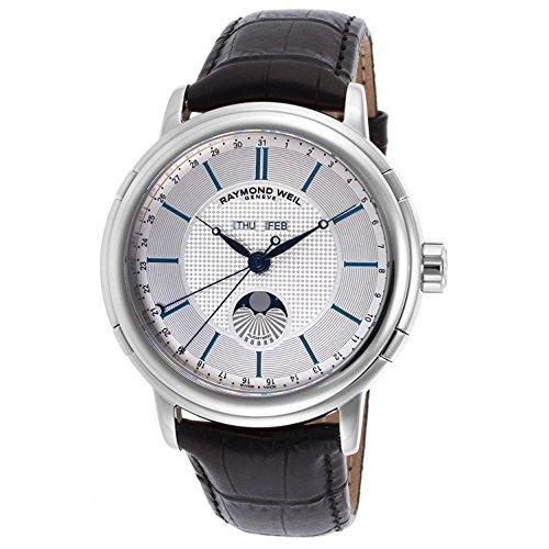 若者の大愛商品 腕時計 レイモンドウィル メンズ スイスの高級腕時計 2869-STC-65001【送料無料 Weil】Raymond Weil Leather Silver メンズ Dial SS Leather Automatic Men's Watch 2869-STC-65001腕時計 レイモンドウィル メンズ スイスの高級腕時計 2869-STC-65001, カスガムラ:9037d214 --- promilahcn.com