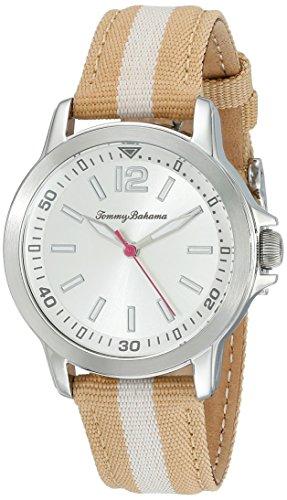 トミーバハマ 腕時計 レディース アメカジ アメリカ 10022440 Tommy Bahama RELAX Women's 10022440 Island Breeze (Air) Stainless Steel Watch with Beige Nylon Bandトミーバハマ 腕時計 レディース アメカジ アメリカ 10022440