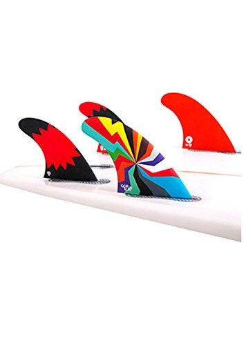 サーフィン フィン マリンスポーツ DARKSIDE HYPER BLAM 【送料無料】Gorilla Darkside Hyper Blam Surfboard Fins - Select Shape and Size (FCS Compatible, Tri-Quad)サーフィン フィン マリンスポーツ DARKSIDE HYPER BLAM