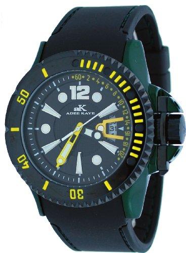 腕時計 アディーケイ メンズ アメリカ LA AK7779 【送料無料】Adee Kaye #AK7779-M Men's Green Aluminum Black Dial Casual Sports Watch腕時計 アディーケイ メンズ アメリカ LA AK7779