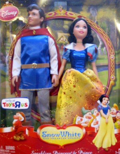 白雪姫 スノーホワイト ディズニープリンセス Disney SNOW WHITE Sparkling PRINCESS & PRINCE DOLLS Toys R US EXCLUSIVE (2008)白雪姫 スノーホワイト ディズニープリンセス