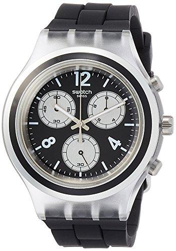 スウォッチ 腕時計 メンズ 夏の腕時計特集 SVCK1004 【送料無料】Swatch Eleblack Black Dial Men's Chronograph Watch SVCK1004スウォッチ 腕時計 メンズ 夏の腕時計特集 SVCK1004