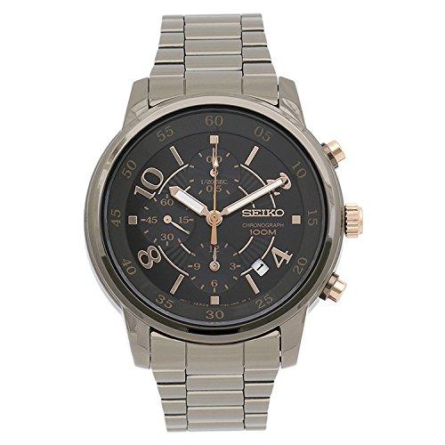 セイコー 腕時計 メンズ SNDW83 Seiko Matrix Chronograph Black Dial Stainless Steel Mens Watch SNDW83 by Seiko Watchesセイコー 腕時計 メンズ SNDW83