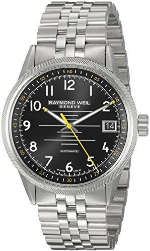 腕時計 レイモンドウィル メンズ スイスの高級腕時計 2754-ST-05200 【送料無料】Raymond Weil Men's 'Freelancer' Swiss Automatic Stainless Steel Casual Watch, Color:Silver-Toned (Model:腕時計 レイモンドウィル メンズ スイスの高級腕時計 2754-ST-05200