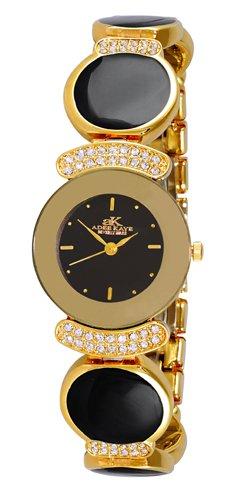 アディーケイ 腕時計 レディース アメリカ LA AK8401-GBK Adee Kaye Women's Crystal Collectionアディーケイ 腕時計 レディース アメリカ LA AK8401-GBK