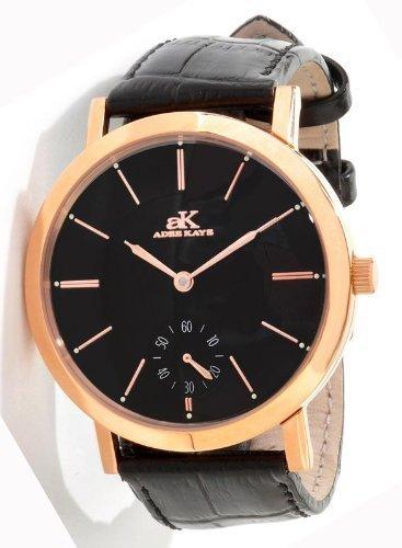 アディーケイ 腕時計 レディース アメリカ LA AK7236 【送料無料】Adee Kaye #AK7236-MRG Men's Antigo Colection Manual Winding Mechanical Leather Strap Watchアディーケイ 腕時計 レディース アメリカ LA AK7236