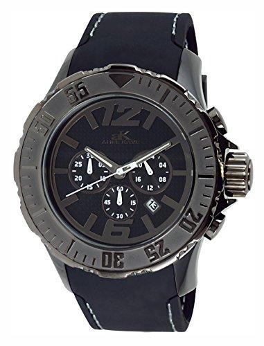 アディーケイ 腕時計 メンズ アメリカ LA AK7755-MIPGN Adee Kaye Men's AK7755-MIPGN Grand Mond - G2Z Analog Display Japanese Quartz Black Watchアディーケイ 腕時計 メンズ アメリカ LA AK7755-MIPGN