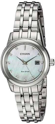 シチズン 逆輸入 海外モデル 海外限定 アメリカ直輸入 EW2390-50D 【送料無料】Citizen Women's 'PAIRS' Quartz Stainless Steel Casual Watch, Color:Silver-Toned (Model: EW2390-50D)シチズン 逆輸入 海外モデル 海外限定 アメリカ直輸入 EW2390-50D