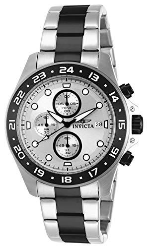 インヴィクタ インビクタ プロダイバー 腕時計 メンズ 15209 【送料無料】Invicta Men's 15209 Pro Diver Chronograph Silver Dial Two Tone Stainless Steel Watchインヴィクタ インビクタ プロダイバー 腕時計 メンズ 15209