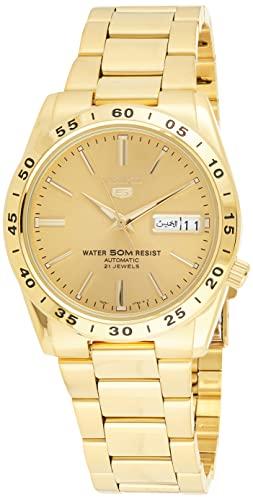 セイコー 腕時計 メンズ SNKE06 Seiko Men's SNKE06 Stainless Steel Analog with Gold Dial Watchセイコー 腕時計 メンズ SNKE06