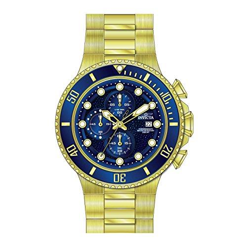 インヴィクタ インビクタ プロダイバー 腕時計 メンズ 25297 Invicta Men's Pro Diver Quartz Watch with Gold-Tone-Stainless-Steel Strap, 28 (Model: 25297インヴィクタ インビクタ プロダイバー 腕時計 メンズ 25297