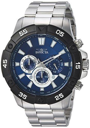 インヴィクタ インビクタ プロダイバー 腕時計 メンズ 24584 【送料無料】Invicta Men's Pro Diver Quartz Watch with Stainless-Steel Strap, Silver, 15 (Model: 24584)インヴィクタ インビクタ プロダイバー 腕時計 メンズ 24584