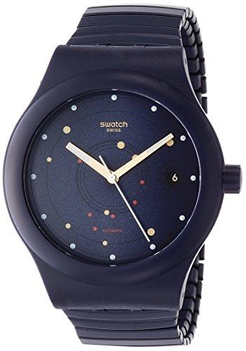 スウォッチ 腕時計 メンズ SUTN403B 【送料無料】Swatch Originals Sistem Sea Flex Blue Dial Silicone Strap Unisex Watch SUTN403Bスウォッチ 腕時計 メンズ SUTN403B