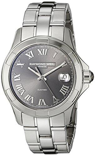 レイモンドウィル 腕時計 メンズ スイスの高級腕時計 2970-ST-00608 【送料無料】Raymond Weil Men's 2970-ST-00608 Parsifal Analog Display Swiss Automatic Grey Watchレイモンドウィル 腕時計 メンズ スイスの高級腕時計 2970-ST-00608