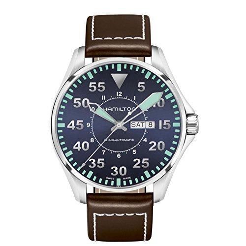 ハミルトン 腕時計 メンズ H64715545 【送料無料】Hamilton Khaki Aviation Pilot Automatic Mens Watch Ref H64715545ハミルトン 腕時計 メンズ H64715545