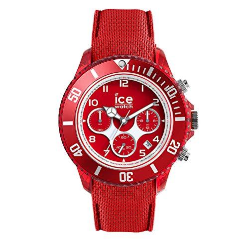 アイスウォッチ 腕時計 メンズ かわいい 014219 Ice-Watch - ICE Dune Forever red - Men's Wristwatch with Silicon Strap - Chrono - 014219 (Large)アイスウォッチ 腕時計 メンズ かわいい 014219