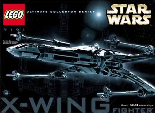 レゴ スターウォーズ 5702012006555 LEGO Star Wars X-Wing Fighter UltimateCollectorSeries 7191 (japan import)レゴ スターウォーズ 5702012006555