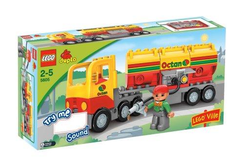 レゴ デュプロ 169193 LEGO Duplo Ville Series # 5605 : Tanker Truck Set with Driver Minifigureレゴ デュプロ 169193