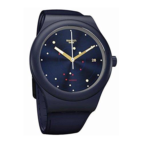 スウォッチ 腕時計 メンズ 4331792266 【送料無料】Swatch Originals Automatic Movement Blue Dial Unisex Watch SUTN403スウォッチ 腕時計 メンズ 4331792266