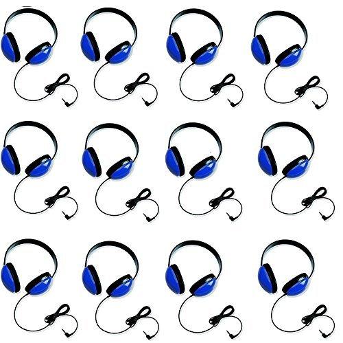 海外輸入ヘッドホン ヘッドフォン イヤホン 海外 輸入 2800-BL 【送料無料】Califone 2800-BL Listening First Stereo Headphones for Kids Bundle (Blue) (12 Items)海外輸入ヘッドホン ヘッドフォン イヤホン 海外 輸入 2800-BL