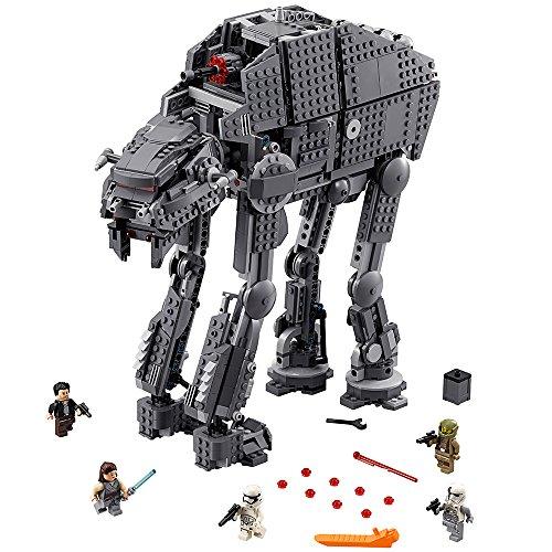 レゴ スターウォーズ 6224296 LEGO Star Wars Episode VIII First Order Heavy Assault Walker 75189 Building Kit (1376 Piece)レゴ スターウォーズ 6224296