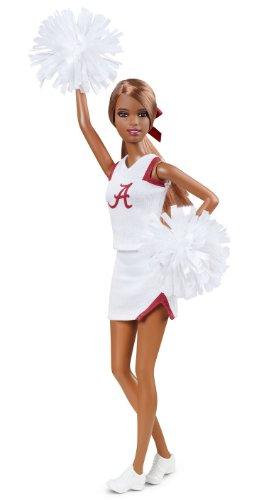 バービー バービー人形 大学 大学生 チアリーダー W3462 Barbie Collector University of Alabama African-American Dollバービー バービー人形 大学 大学生 チアリーダー W3462