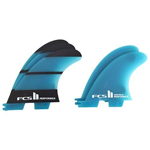 サーフィン フィン マリンスポーツ PERFORMER FCS II Performer Neo Glass Tri Quad Fin Set - Medium.サーフィン フィン マリンスポーツ PERFORMER