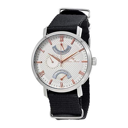 ルシアンピカール 腕時計 メンズ Lucien Piccard Verona Silver Dial Dual Time Men's Watch 10340-02S-RA-NSルシアンピカール 腕時計 メンズ