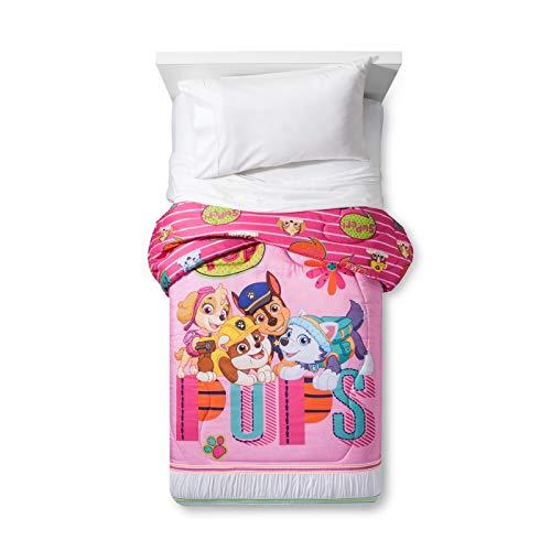 パウパトロール アメリカ直輸入 英語 バイリンガル育児 おもちゃ 【送料無料】Paw Patrol Pink Microfiber Twin Comforter, Puppy Dogsパウパトロール アメリカ直輸入 英語 バイリンガル育児 おもちゃ