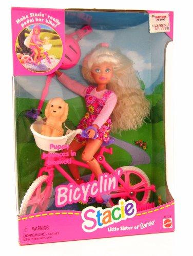 最先端 バービー バービー人形 チェルシー スキッパー スキッパー バービー ステイシー and Little Sister of Barbie Bicylin' Stacie Includes Doll and Bicycleバービー バービー人形 チェルシー スキッパー ステイシー, ピアス専門店 ZOLCH:74588ad9 --- canoncity.azurewebsites.net