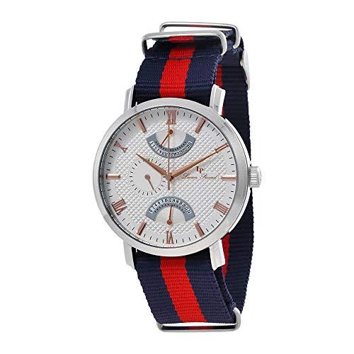 ルシアンピカール 腕時計 メンズ 【送料無料】Lucien Piccard Verona Dual Time Men's Watch 10340-02S-NBRNSルシアンピカール 腕時計 メンズ
